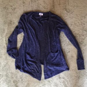 Blue Lightweight Old Navy Cardigan